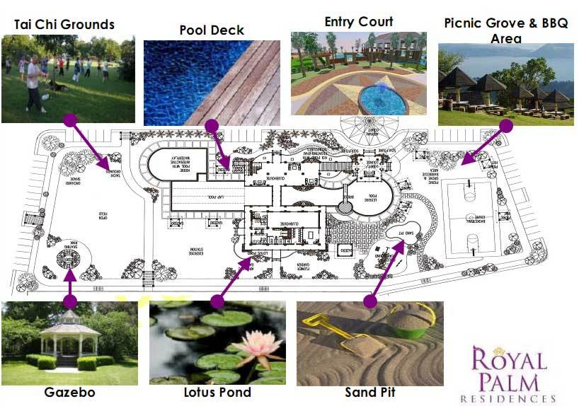 Royal Palm Residence Amenities List